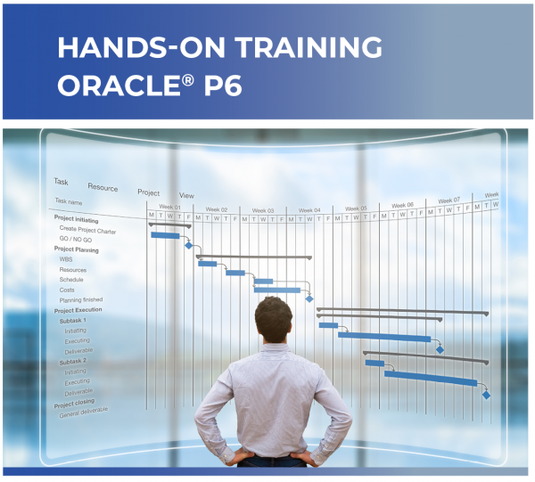 Training for Primavera Oracle P6 Class