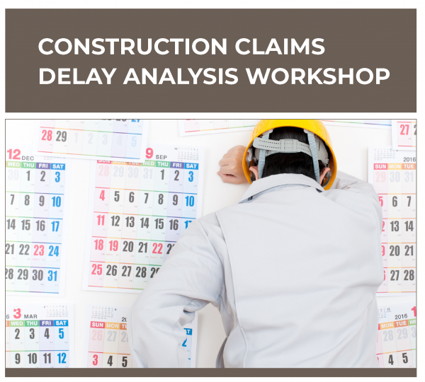 Construction Claims Delay Analysis Workshop Training in Michigan