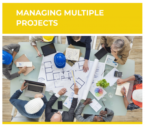 Training Class on Construction managers key to Managing Multiple Projects, PMI Registered Education Provider R.E.P.
