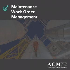 Maintenance Work Order Management, PMO professional Development, Project managers, Ann Arbor, North Carolina, Ohio